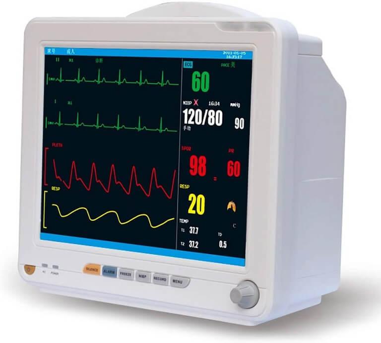 Monitor multiparametro de signos vitales